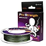 SAPLIZE Braided Fishing Line ,Zero Stretch,Smaller Diameter,Abrasion Resistant Super Strong...