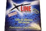 X-line Fluorocarbon Carp Mainline (15lb (0.31mm) 600 Metres)
