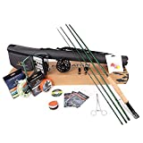 sprinton MAXIMUMCATCH Maxcatch Premier Fly Fishing Rod and Reel Combo Complete 9' Fishing Outfit