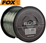 FOX Eos high performance monofilament fishing line low viz green 15lb/6.80kg 0.33mm 1000m spool c/o...