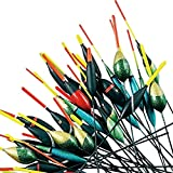 FLADEN Fishing - 50 Bulk Pack of Assorted Pole Floats - Different Sizes - For Pole and Whip Fishing...