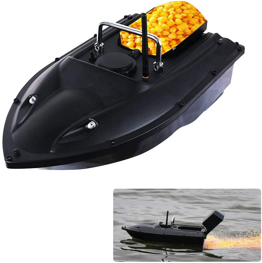 APROTII RC Remote Control Bait Boat Carp Fishing Bait Boat RC Boilies Runtime 8Hours 1200g Anti Grass Wind 300M