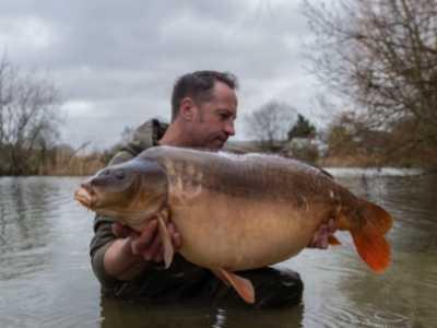 best uk carp fishing holidays - furzebray