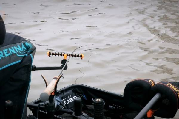 fish a quiver tip with a tight line